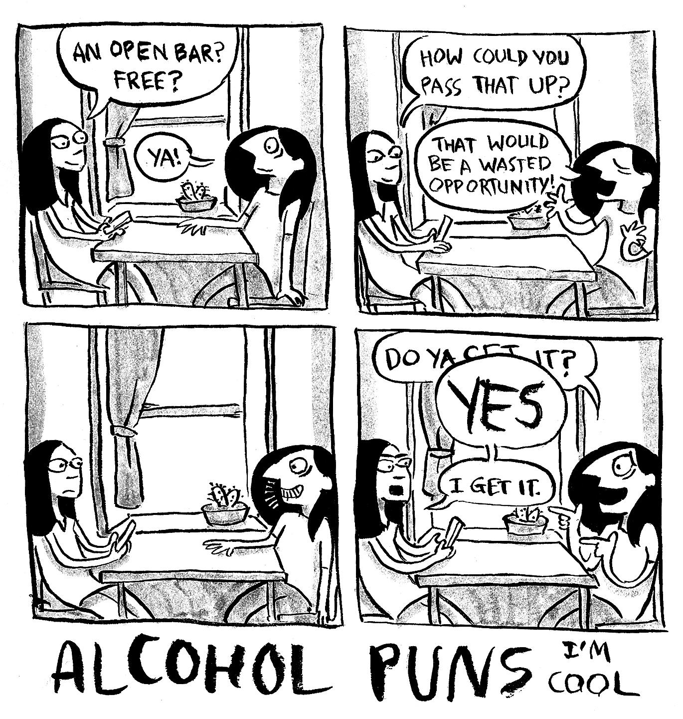Alcohol Pun 2