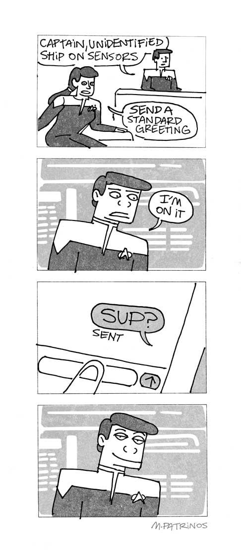 Standard Greeting
